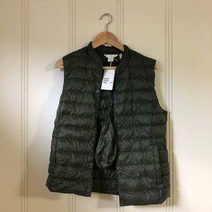 Eco-Friendly Puffer Vest